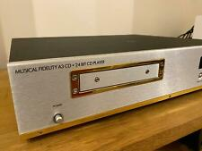 Musical Fidelity A3 CD Player, manual & remote [WEST LONDON]