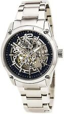 Kenneth Cole KC9380 Automatic Skeleton All Stainless Steel 2 Year Guar RRP £175