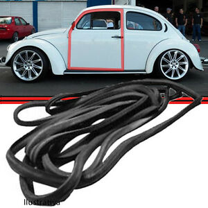 VW Bug Beetle Door Rubber Seal Gasket to Body LEFT Offside T1 Classic 1965-1979