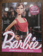 Barbie Magazine Holiday Preview 2013