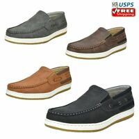 Mens Boat Shoes Comfort Loafers Slip on Casual Shoes Fashion Sneakers