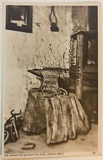 Old Postcard The Famous Old Blacksmith's Anvil - GRETNA GREEN Scotland- Unposted