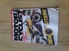 2005 NOVEMBER MOTOR CYCLIST MAGAZINE R6 FZ1 ZX-R KAWASAKI SUZUKI HONDA YAMAHA