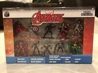 Marvel Avengers Nano Metal figs 10 Pack 100% Die-Cast Mini Figures