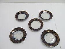 MES-47535Altes Porzellan Puppenstuben Geschirr 5 St. Teller Durchmesser:ca.67mm