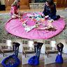New Portable Kids Play Mat Storage Bag Toys Organizer Rug Box For Home Dolls