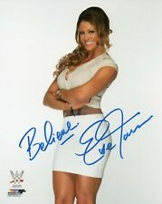 EVE TORRES SIGNED WWE PHOTO WRESTLING WITH COA & PROOF