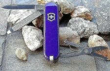 Victorinox Classic Sd Purple 53034 Original Swiss Army Knife New! Authentic