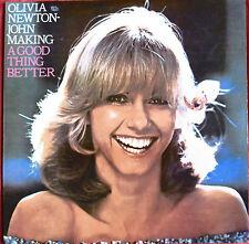 "OLIVIA NEWTON-JOHN - RARE LP CHILE ""MAKING A GOOD THING BETTER"""