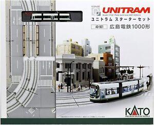 KATO N gauge Unitram Starter Set Hiroshima Electric Railway 1000 Type 40-901 Mod