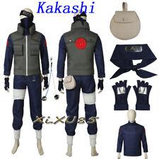 Hot Anime NARUTO Kakashi Hatake Cosplay Costume Vest Only Customzie Halloween
