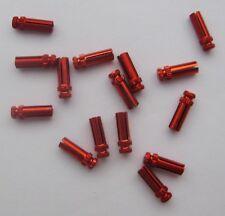 Bulk Pack of 15 Dart Flight Protectors - Aluminium Red