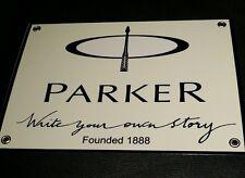 Parker Pens vintage design logo sign
