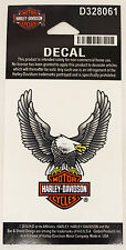 Genuine Harley Davidson Bar Shield GREY American Eagle logo mini decal sticker