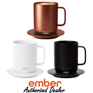 Ember Smart Mug 2 Temperature Controlled Smart Coffee Cup - All Colors - 10 oz
