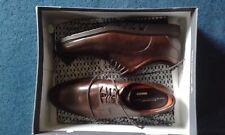 Zapatos de cuero ROCKPORT CITY SMART UK 11.5 EU 46.5 nuevos marrón para hombre Plain Toe