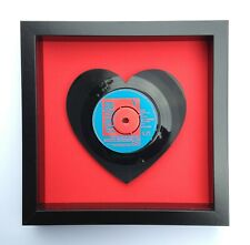 The Buzzcocks 'Ever Fallen In Love With Someone' Heart Shaped Vinyl Record Art