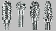 "Carbide Burr for IRON- 3/8 head x 4"" shank- You Choose Shape- Great Porting Tool"