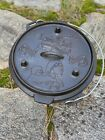 NEW - Cast Iron Camp Dutch Oven Lewis & Clark Corps Of Discovery 5 Qt Camp Chef