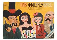Das Malefiz Spiel Barricade AlteGroße Ausgabe 6 Spieler doppelseitiger Spielplan