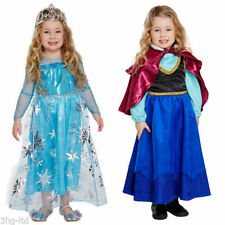 Vestidos de niña de 2 a 16 años de manga larga color principal azul