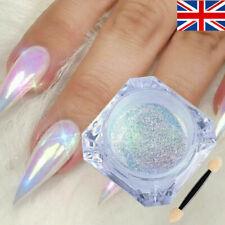 Glitter EFFECT Pigment NAIL ART POWDER DUST Auraro Neon Glitter Mirror Tips 0.2g