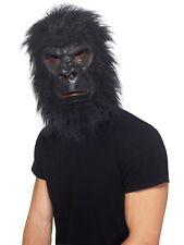 Adult Black Gorilla Costume Mask