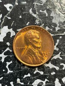 1947-S U.S. Lincoln Penny Wheat Cent Lot#U017 High Grade! Beautiful!