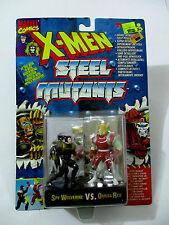 MARVEL COMICS X-MEN Steel Mutants Spy Wolverine VS Omega Red TYCO 1994 MOC