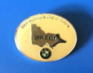 BMW Motorcycle Club Of Victoria 2000 Rally Badge
