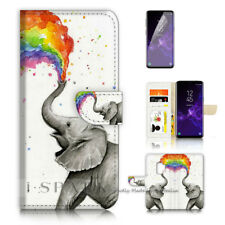 ( For Samsung S9+ / S9 Plus ) Case Cover P40526 Elephant Rainbow