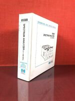 HP 8558B Spectrum Analyzer 0.1-1500MHz Operation And Service Manual #6B1921