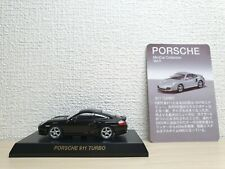 1/64 Kyosho PORSCHE 911 TURBO 996 BLACK diecast car model