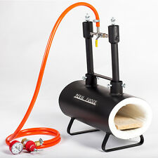 Gas Propane Forge Furnace Raku Kiln Burner Torch DFSW2 Farrier Blacksmith