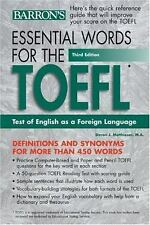 Essential Words for the TOEFL (Essential Words for the Toefl)-ExLibrary
