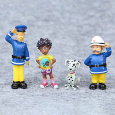 12Pcs/Set Fireman Sam Action Figure Toys 3-6cm Cartoon Dolls Kids Christmas