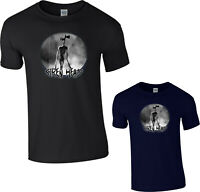 Alien Siren Head T-Shirt,Horror Monster Urban Legend Story Scary Creepy Gift Tee