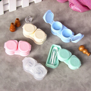 Travel Contact Lenses Case New Style Contact Lens Tweezers Suction Set Portabyx