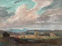 GEORGE GRAINGER SMITH Watercolour Painting GREENODD CUMBRIA LAKE DISTRICT c1930
