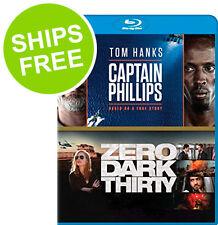 Captain Phillips / Zero Dark Thirty (Blu-ray, 2017) NEW, Sealed