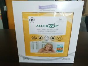 FULL Protect-A-Bed AllerZip Anti-Allergy Bed Bug Water Proof Mattress Protector