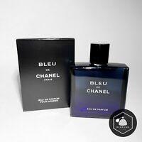 CHANEL Bleu De Chanel Eau De Parfum EDP 3.4 Oz / 100 ml NEW & SEALED Men`s Spray