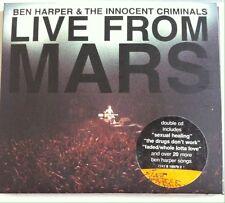 Ben Harper & the Innocent Criminals - Live from Mars (CD, 2001, 2 Discs, Virgin)