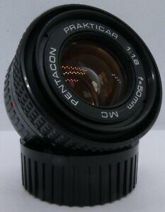 Vintage Pentacon Prakticar 50mm f1.8 MC Lens, Praktica B Bayonet Fit