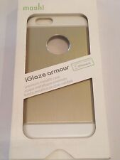 "Moshi iGlaze Armour Case for iPhone 6 & 6s 4.7"" Satin Gold 99MO079251"