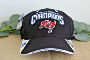 Tampa Bay Buccaneers 2003 Conference Champions Reebok Adjustable Hat Unworn NWT