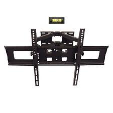 """Full Motion Dual Arm TV Wall Mount 22"""" ~ 65"""" Tilt Swivel, hold up to 88lb/40kg"""