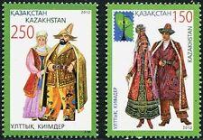 KAZAKHSTAN Sc.# 694-95 Folk Costumes Stamps