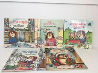 Lot of 5 Little Critter Books  Mercer Mayer Children PB POTTY DENTIST CHRISTMAS