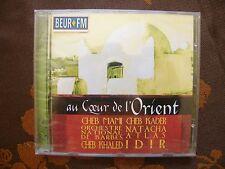 CD VARIOUS - Au Coeur De L'Orient..Cheb Mami,Idir... / Sony Music  (1999)   NEUF